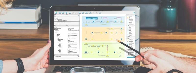 Ново Enfocus Switch приложение за по-добра автоматизация, интегрирано в ERP системата Dataline MultiPress