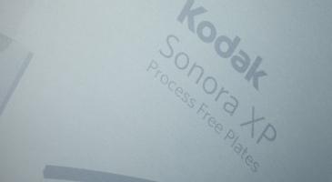 Kodak ще обяви следващото поколение Sonora XP за UV приложения на Друпа