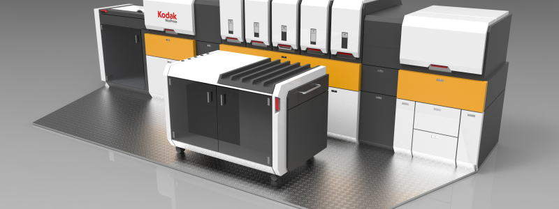 PRP обяви получаването на голяма поръчка от Kodak за производството на печатни глави