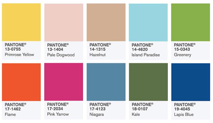 Pantone 2017: летните цветови тенденции
