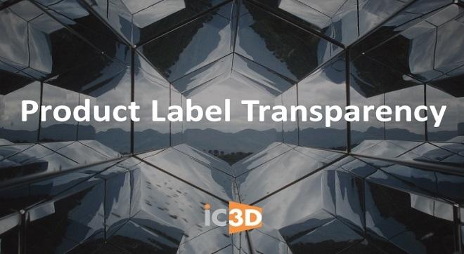 Прозрачност на информацията върху етикета на продукта