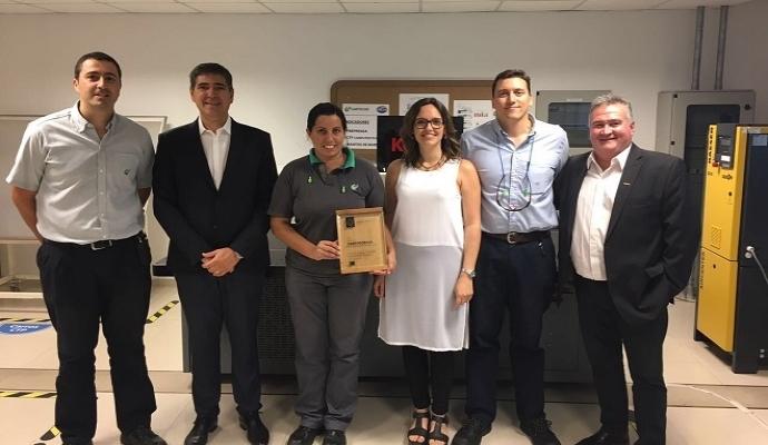 Cartocor S.A. с признание за устойчивост с наградата SONORA Plate Green Leaf