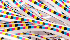 Предварителна проверка от старата школа: цветни ленти и пасер символ