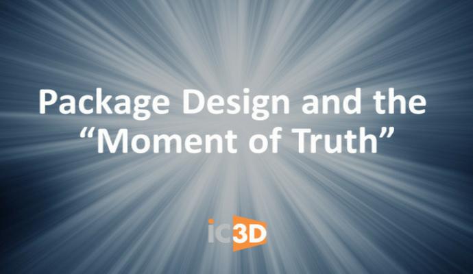 """Дизайн на опаковки - """"Моментът на истината"""""""