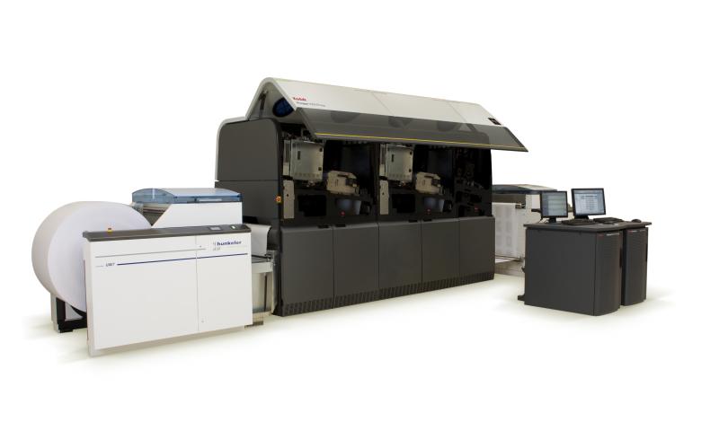 Prosper 1000 - ролна дигитална печатна машина за черно-бял печат