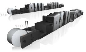 Prosper 6000 - ролна дигитална печатна машина за цветен печат