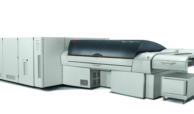 Magnus Q2400/Q3600 - термален CTP експонатор за офсетови пластини с много голям размер
