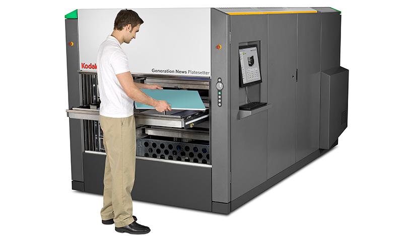 Generation News - термален CTP експонатор с автоматизация за офсетови пластини за вестници