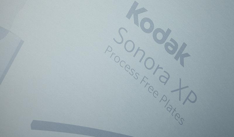 Sonora XP - безпроцена пластина за офсетов печат