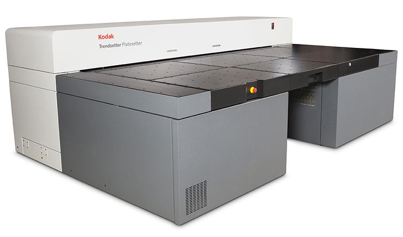 Trendsetter Q2400/Q3600 - термален CTP експонатор за офсетови пластини с много голям размер