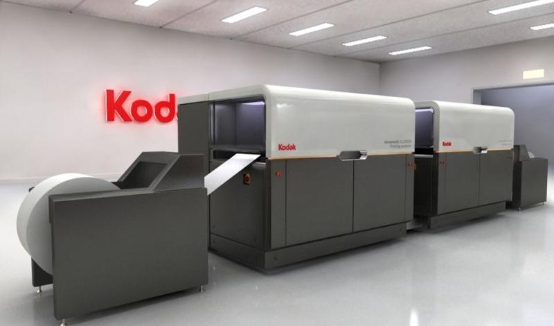 Versamark Reconditioned - рециклирана ролна дигитална печатна машина за цветен печат