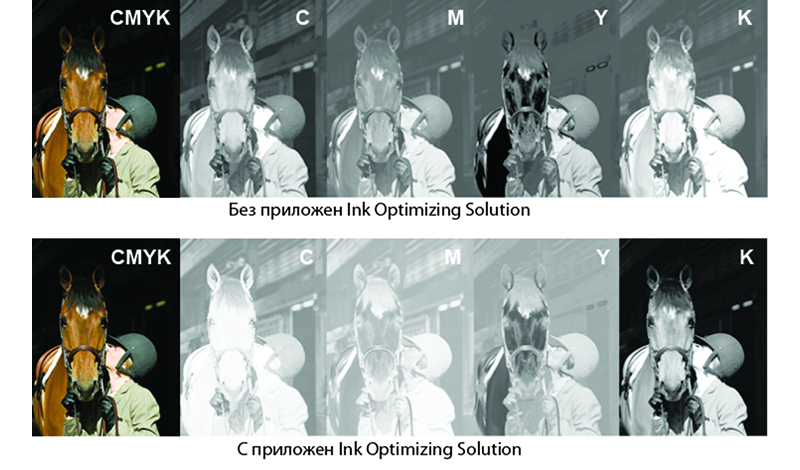 Ink Optimising Solution