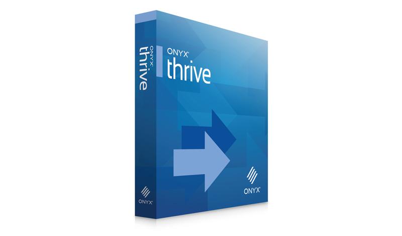 Thrive - работен поток за широкоформатен печат