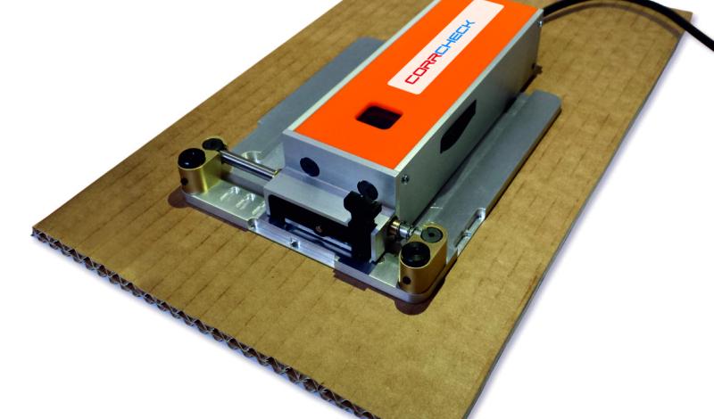 CORRCHECK - уред за контрол на производството на велпапе