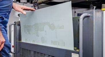 Sonora UV - безпроцесна пластина за офсетов печат с UV мастила