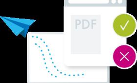 PDF Review - коментари и одобрение на файлове за печат през браузър