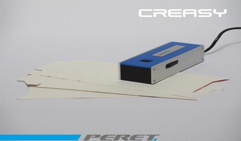 CREASY Folding Creasing Analyzer - уред за контрол на бигове