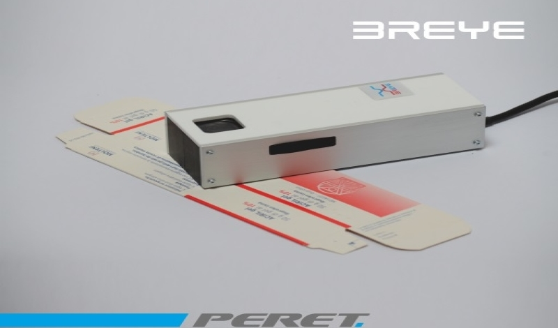 BREYE Braille Dot Analyzer - уред за измерване на брайлово писмо