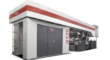 Onyx - флексо печатна машина с централен цилиндър