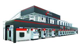 Next 450 - машина за дълбок печат на широк материал