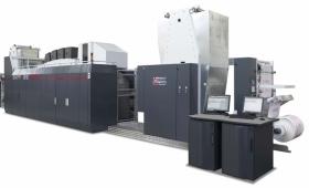 UTECO Sapphire EVO - ролна хибридна печатна машина за гъвкави опаковки