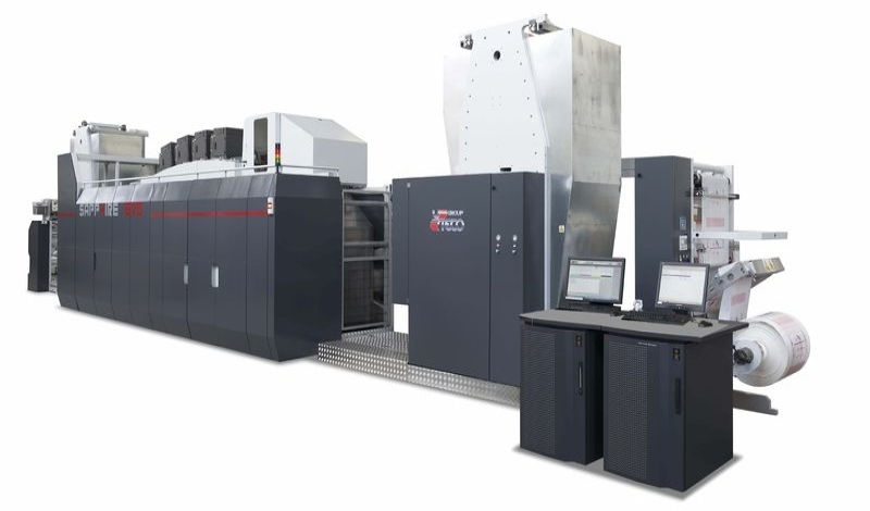 Sapphire EVO - ролна хибридна печатна машина за гъвкави опаковки