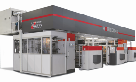 UTECO Horizon 4.0 - кашираща машина създадена по поръчка