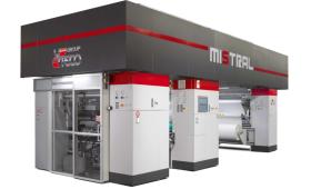 UTECO Mistral - кашираща машина за всички видове материали