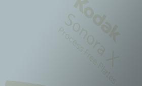 SONORA X - безпроцесна пластина за офсетов печат