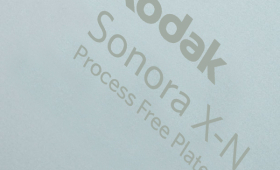 SONORA X-N - безпроцесна пластина за офсетов печат на вестници