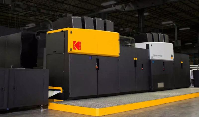 Prosper Ultra 520 - цветна ролна дигитална машина за печат на рекламни материали, книги и други комерсиални продукти