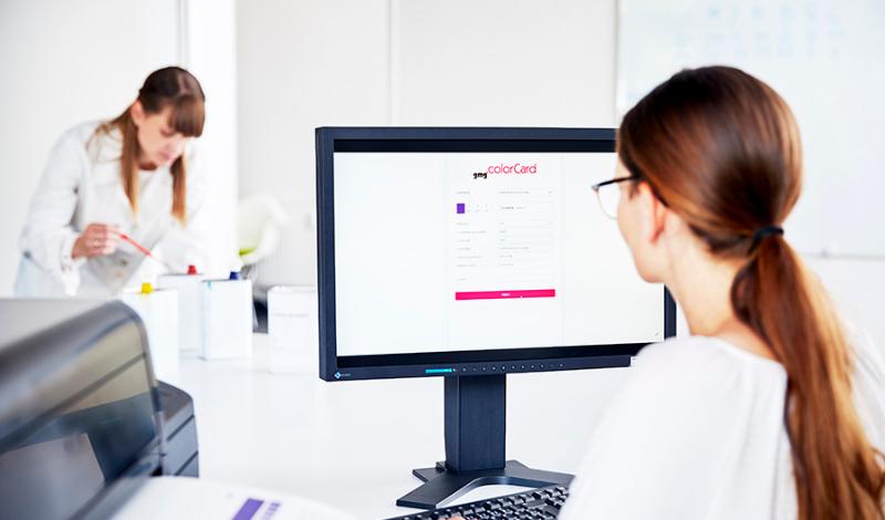 ColorCard - система за изготвяне на цветови шаблони и референтни цветови карти